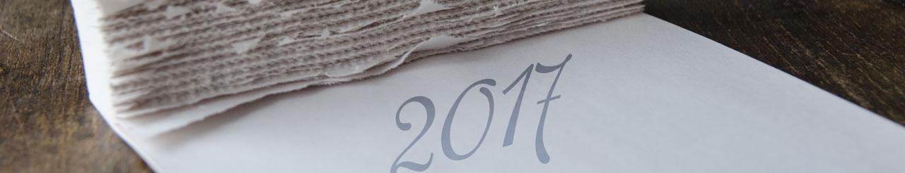 Kalender 2017 - Planung